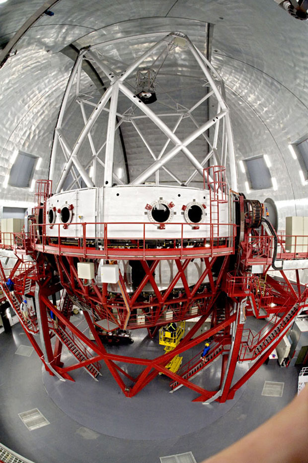 Students will graduate with all the skills they need to work on the construction of large telescopes like the GTC.